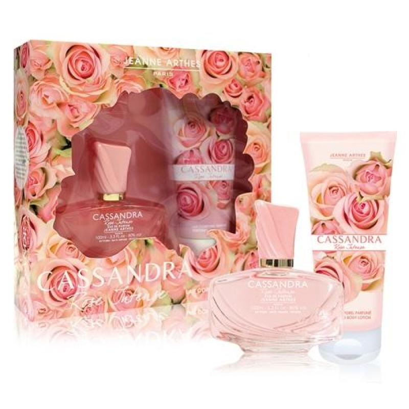 Buy Jeanne Arthes Cassandra Rose Intense 2 Pcs Gift Set for Women (100ml EDP+150ml Body Lotion) Eau de Parfum Pink Singapore