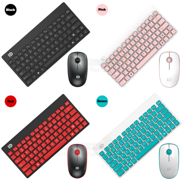Szforter G1500 Wireless Keyboard + Mouse Combo 250Hz For Work & Gaming