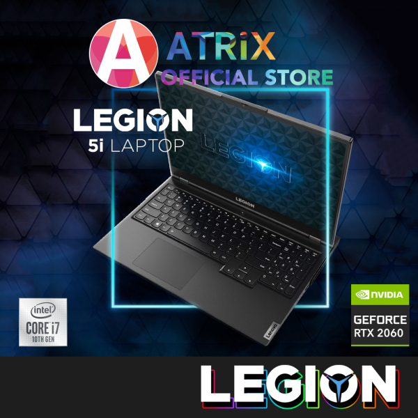 【Same Day Delivery】Lenovo LEGION 5 Gaming 81Y600QXSB | 15.6inch FHD 120Hz | i7-10750H | RTX2060 | 512GB SSD | White backlit | Win10 Home | 3Yrs Lenovo Onsite warranty