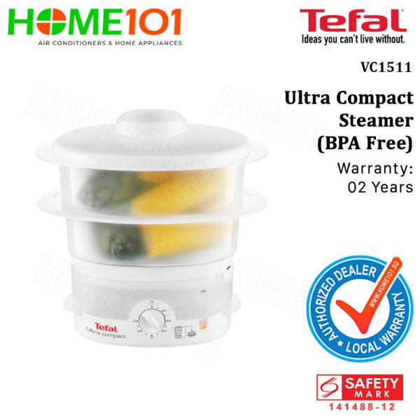 Tefal Ultra Compact Steamer (BPA Free) VC1511 Singapore