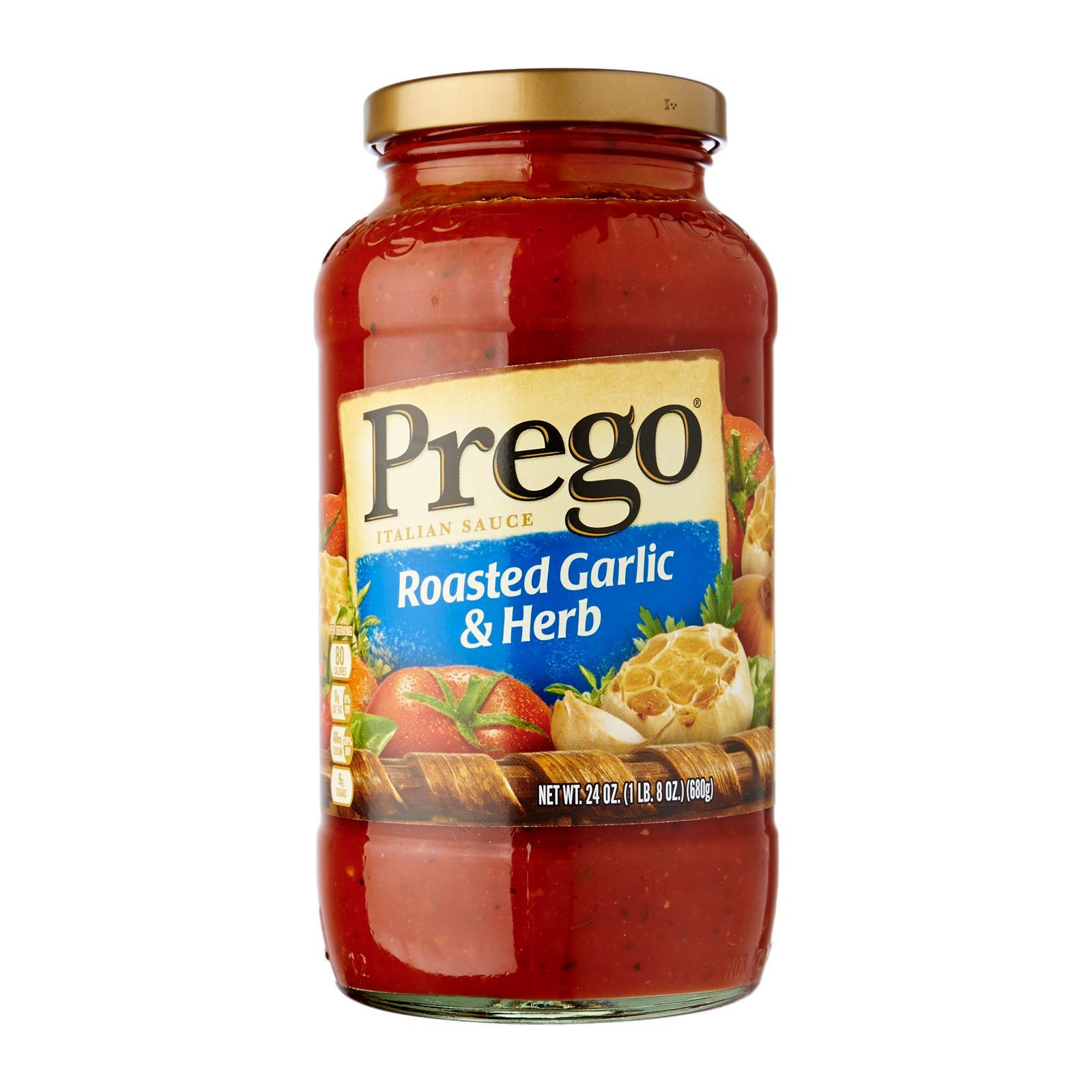 Prego Roasted Garlic Herb Italian Sauce