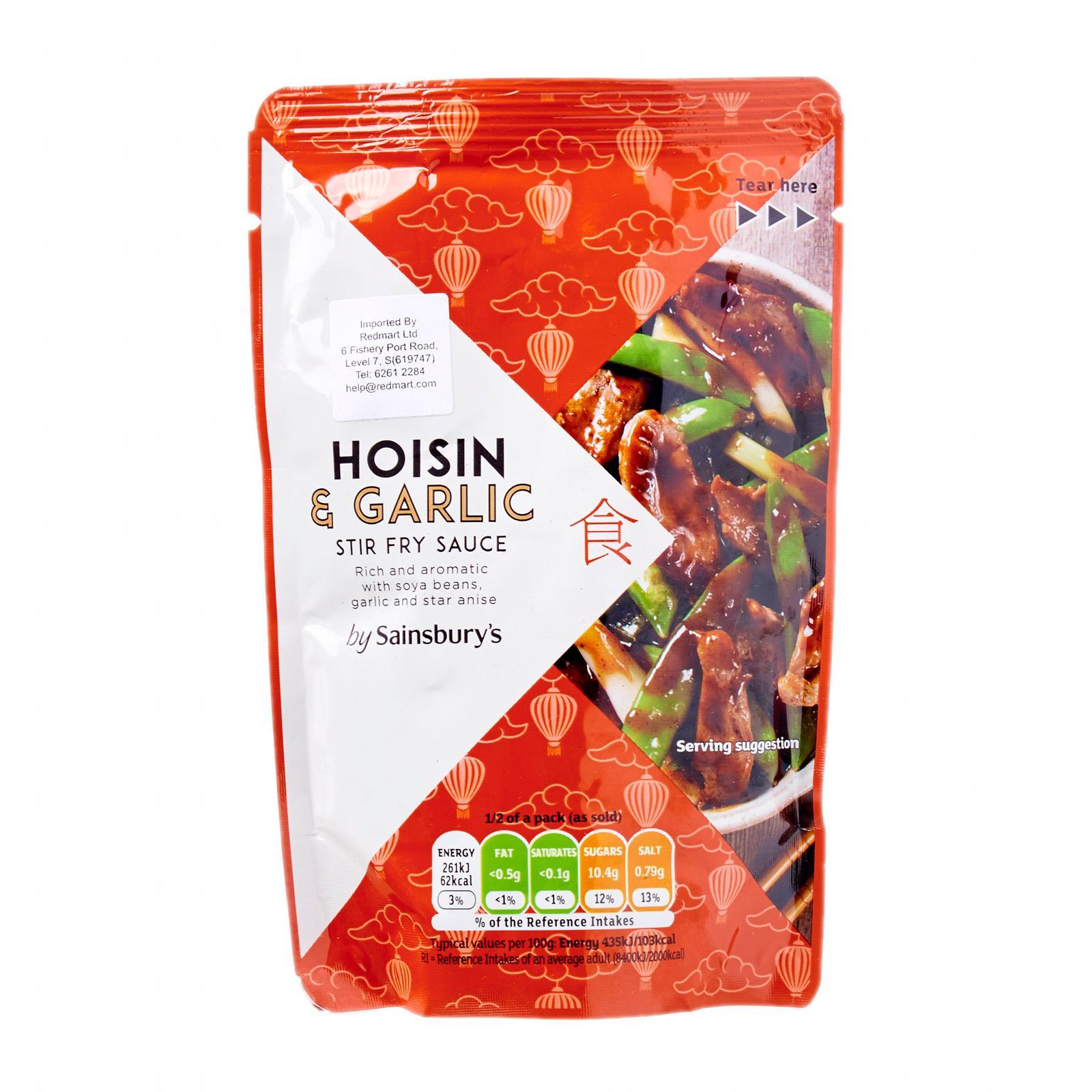 Sainsbury's Hoisin And Garlic Stir Fry Sauce