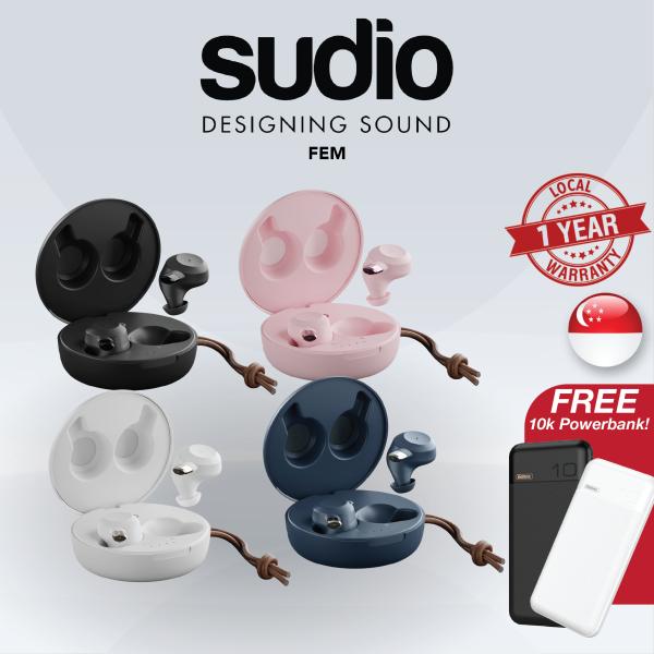 [SG] Sudio FEM True Wireless In-Ear Bluetooth Headphones/Earbuds Singapore