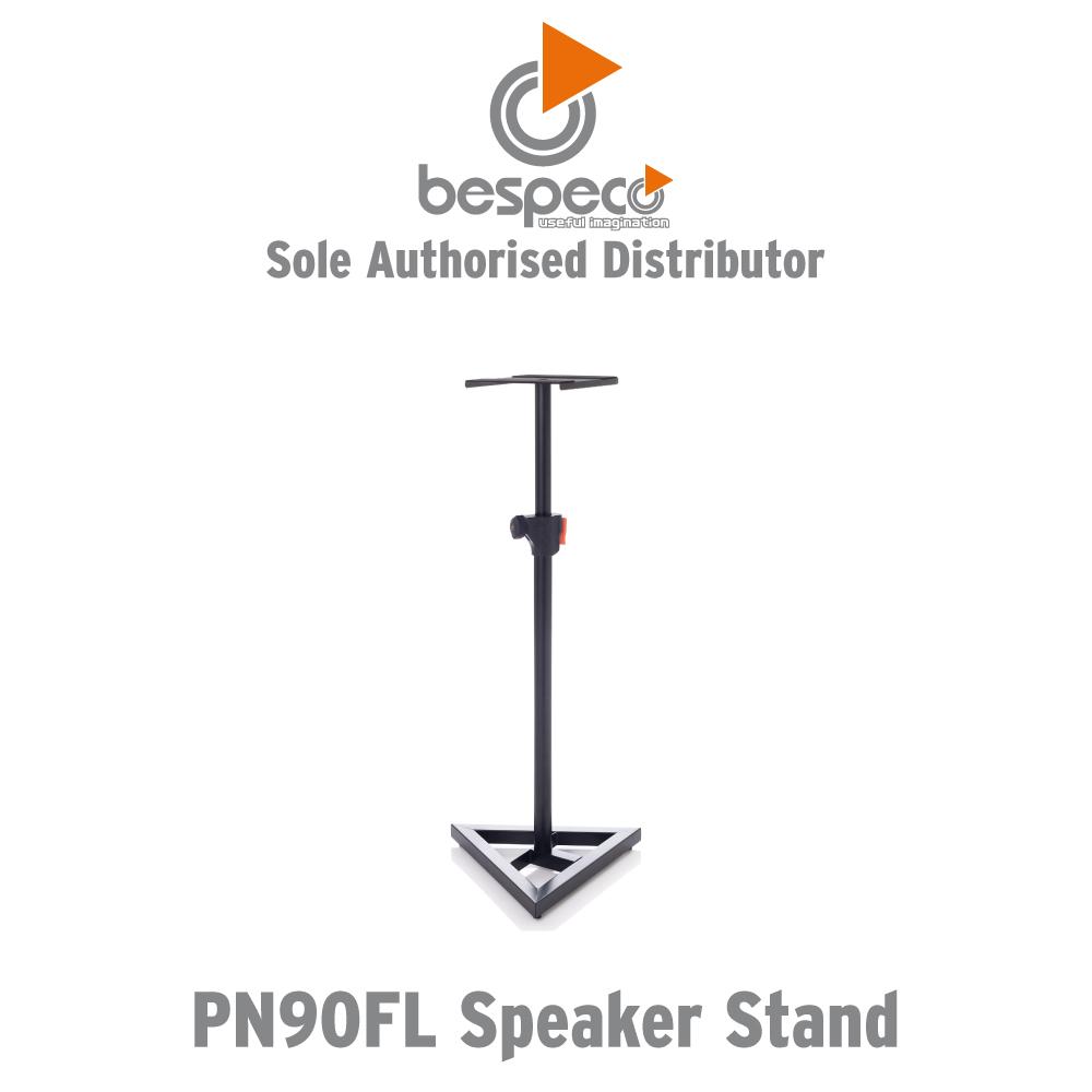 Bespeco Pn90fl Professional Studio Monitor / Speaker Stand.