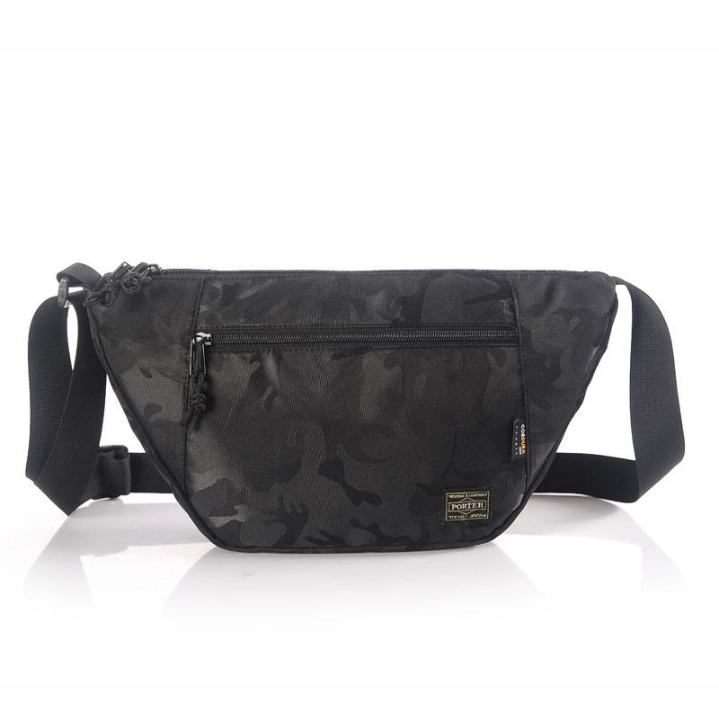 Japan Yoshida Porter Shoulder Bag Mens Messenger Bag Japanese-style Street Messenger Bag Simple College Nylon Fabric Pannier Bag