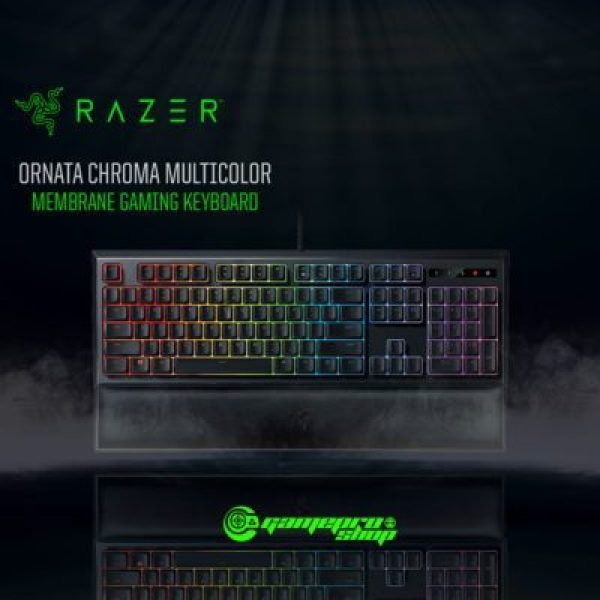 Razer Ornata Chroma-Multicolor Membrane Gaming Keyboard - RZ03-02040100-R3M1 (1Y) Singapore