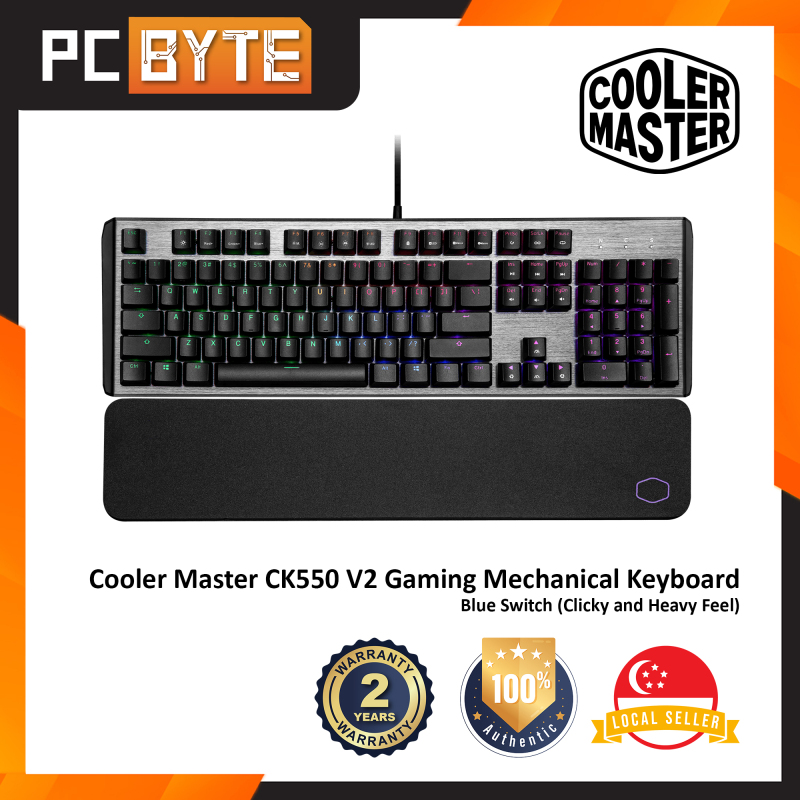 Cooler Master CK550 V2 - Gaming Mechanical Keyboard (RGB Backlight) Singapore