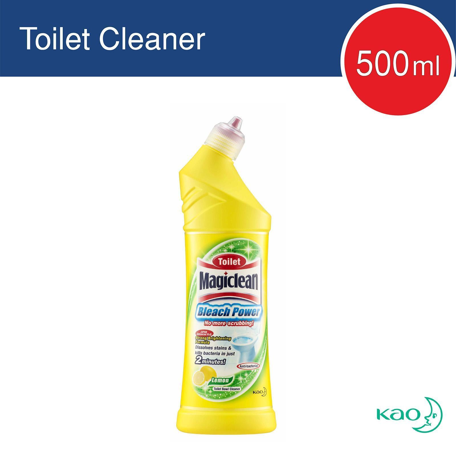 Magiclean Toilet Bleach Power Lemon Cleaner By Redmart.