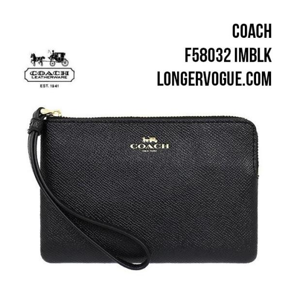 Coach Leather Wristlet Signature Coated Canvas phone wallet outlet pouch F57465 F58695 F58032 F38641 gift idea