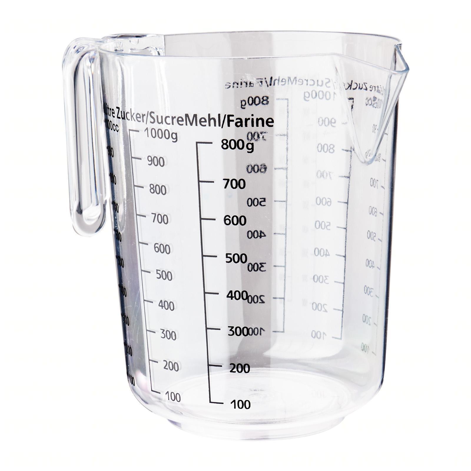 Fackelmann Transparent Measuring Pot 1L