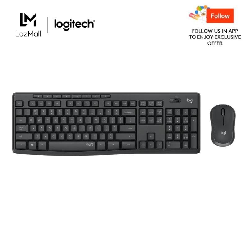 Logitech MK295 Silent Wireless Keyboard Mouse Combo Singapore