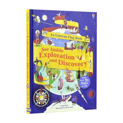 See Inside Exploration And Discovery With Over 70 Flaps To Lift Best Gift For Kids