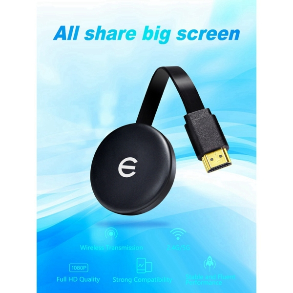 WECAST EC-C13 TV Stick HDMI Wireless WiFi TV Display Dongle 1080P Screen Projector Receiver Adapter for Android IOS PC
