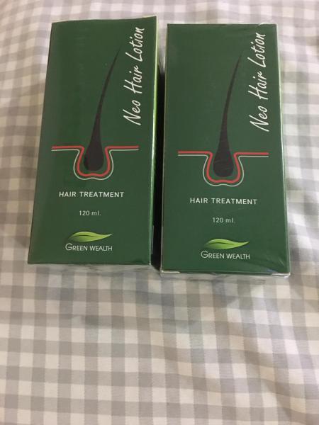 Buy 2 Box Original Thailand Neo Hair Lotion / Neo Hair Oil / Hair Loss / Thinning Solution 120ml x 2 Box Singapore