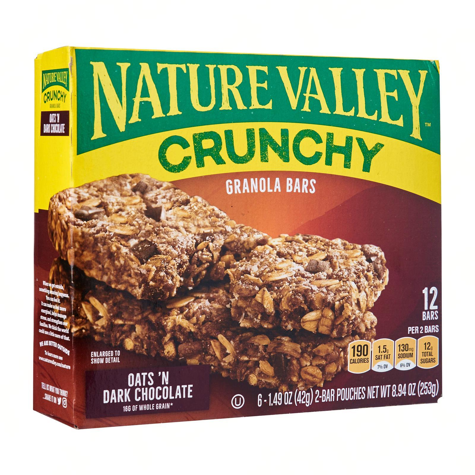 Nature Valley Oats and Dark Chocolate Granola Bars