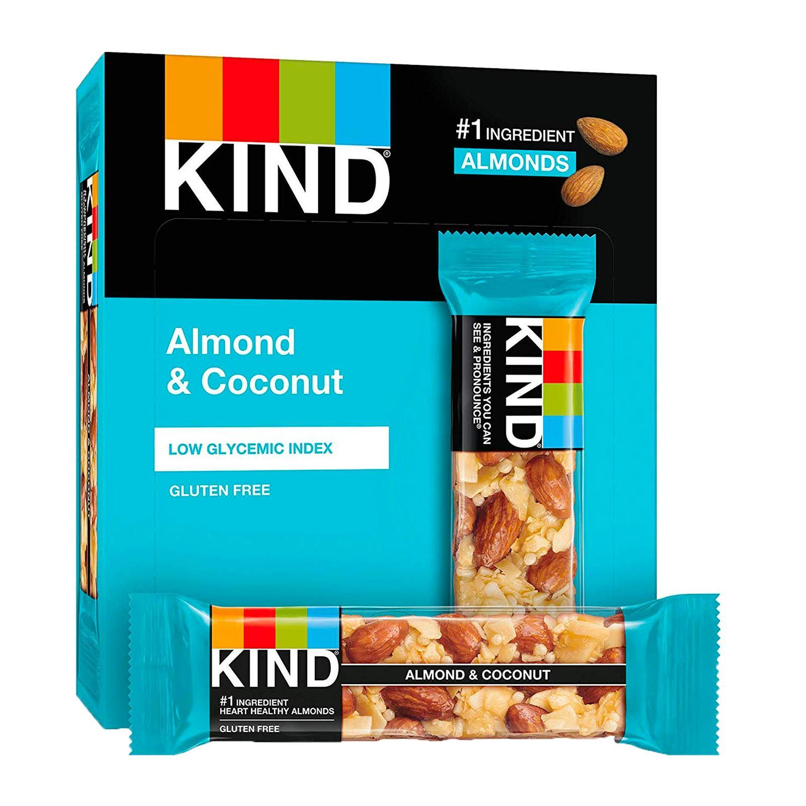 KIND Fruit And Nut Almond And Coconut Bar - By Wholesome Harvest