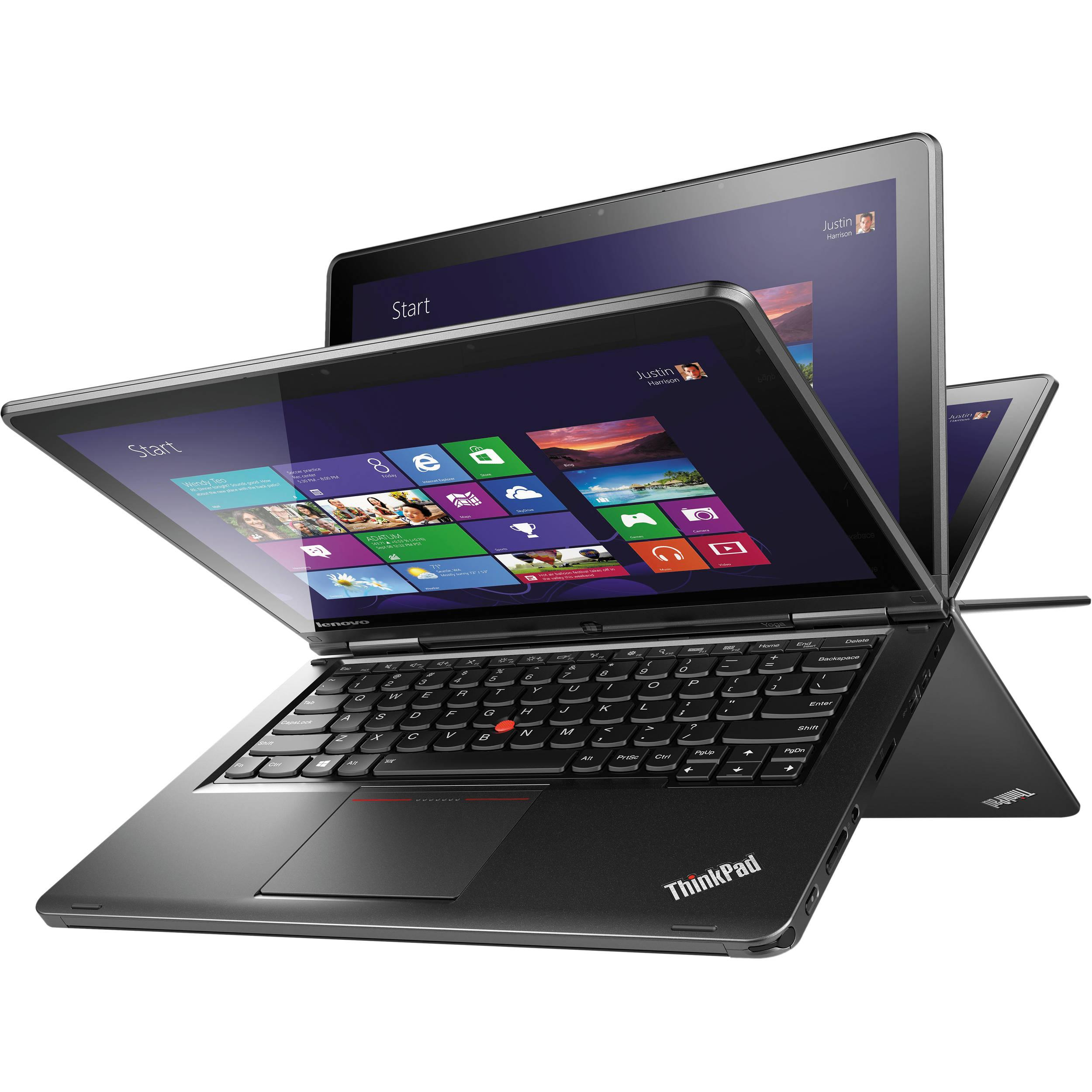 "[Refurbished] Lenovo ThinkPad Yoga Ultrabook/Tablet Touch & Pen- 12.5"" FHD  i5-4th Gen 4GB RAM 128GB SSD"