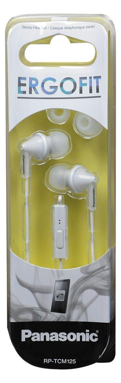 Panasonic RP-TCM 125(white) earphone
