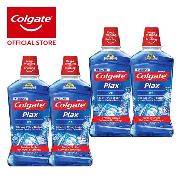 Buy Colgate Plax Ice Mouthwash 1L [Bundle of 4] Value Deal (1525697-4) Singapore