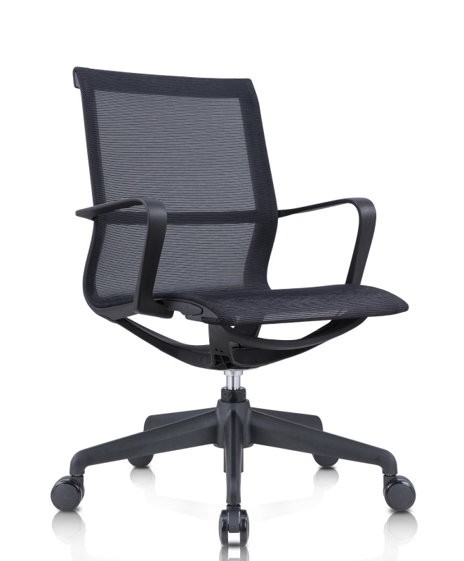 Oliver - Premium Mid Back Ergonomic Computer Chair - Free Installation and Delivery - Full Mesh Seat and Body Singapore
