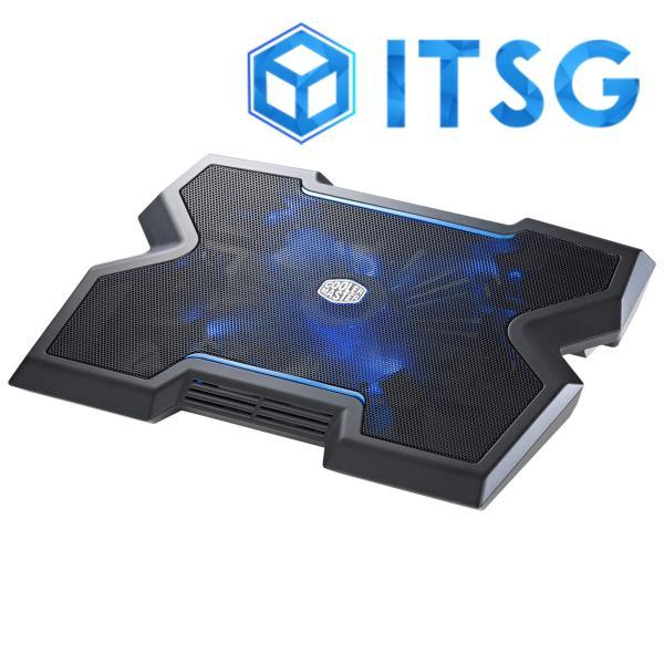 Cooler Master Notepal X3 200mm Blue LED Fan Gaming Notebook Cooler