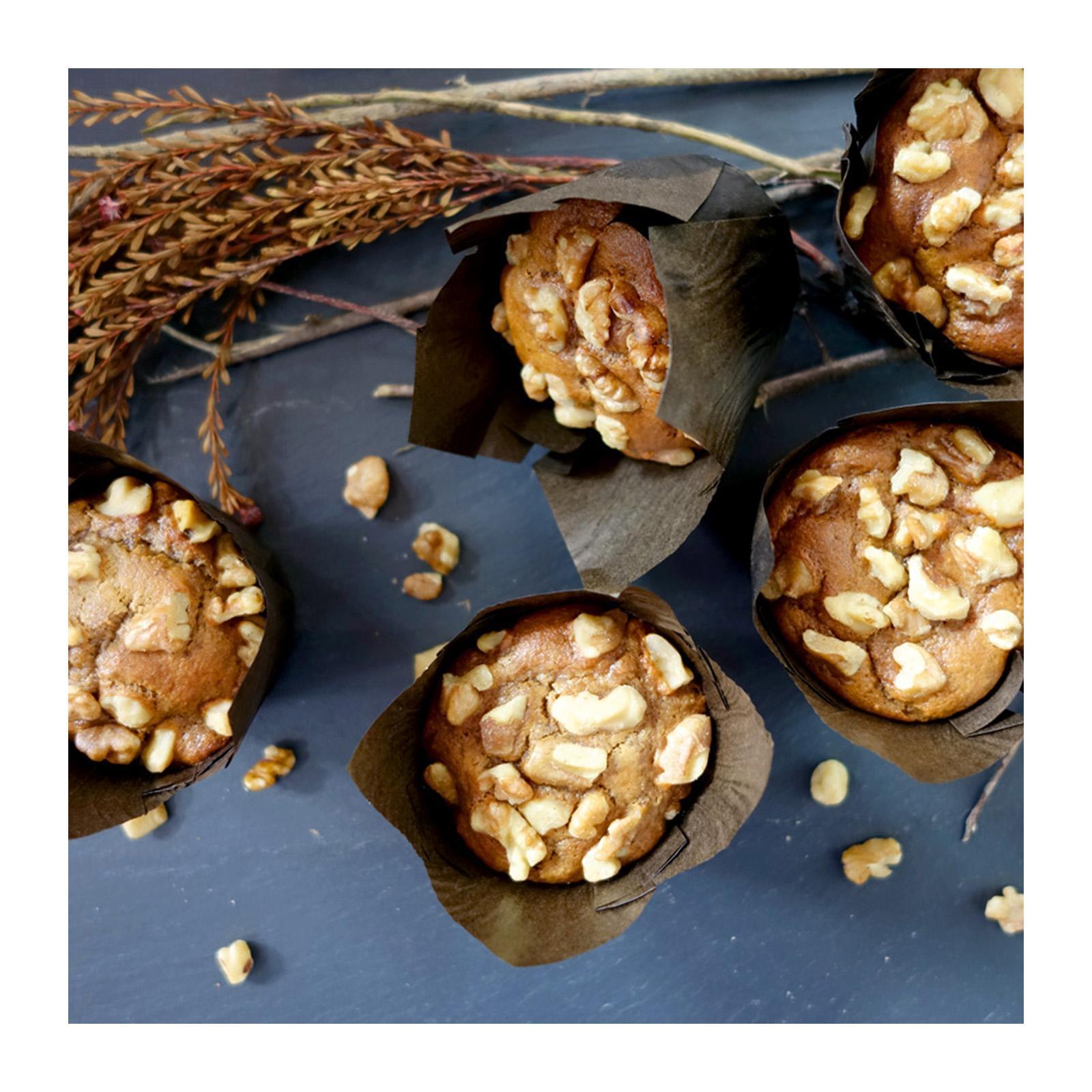 Bakening Flourless Walnut Muffins (paleo) By Redmart.