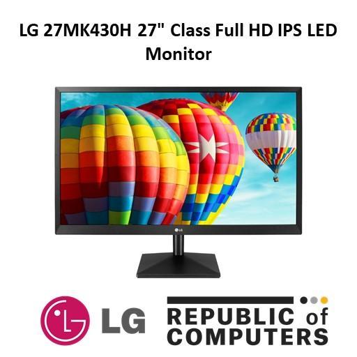 LG 27MK430H 27 Class Full HD IPS LED Monitor with Radeon FreeSync™ (27 Diagonal)