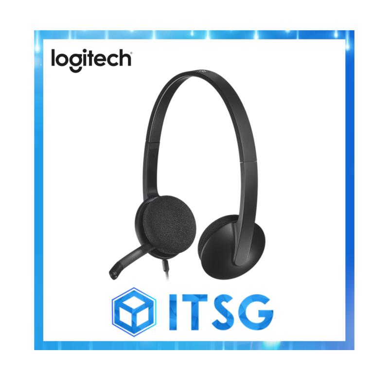 Logitech H340 USB Headset (Local 2 Yr Warranty) Singapore