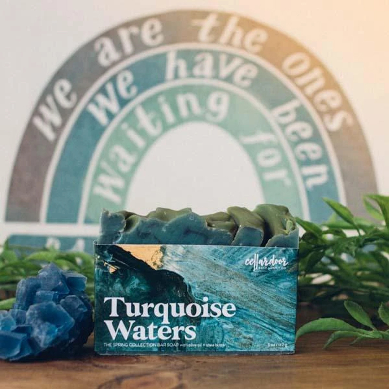 Buy Turquoise Waters Bar Soap by Cellar Door Bath Supply Co. Singapore