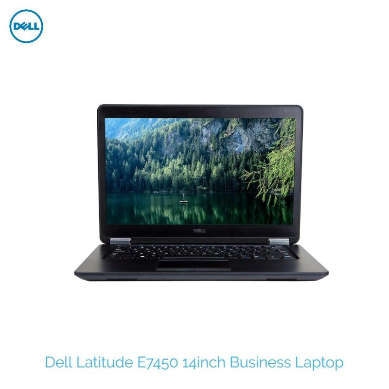 Dell Latitude E7450 14inch Business Laptop Computer, Intel Core i7-5600U #2.6Ghz 8GB RAM, 512GB SSD, 802.11ac, Bluetooth, HDMI, USB 3.0, Windows 10 Professional Used