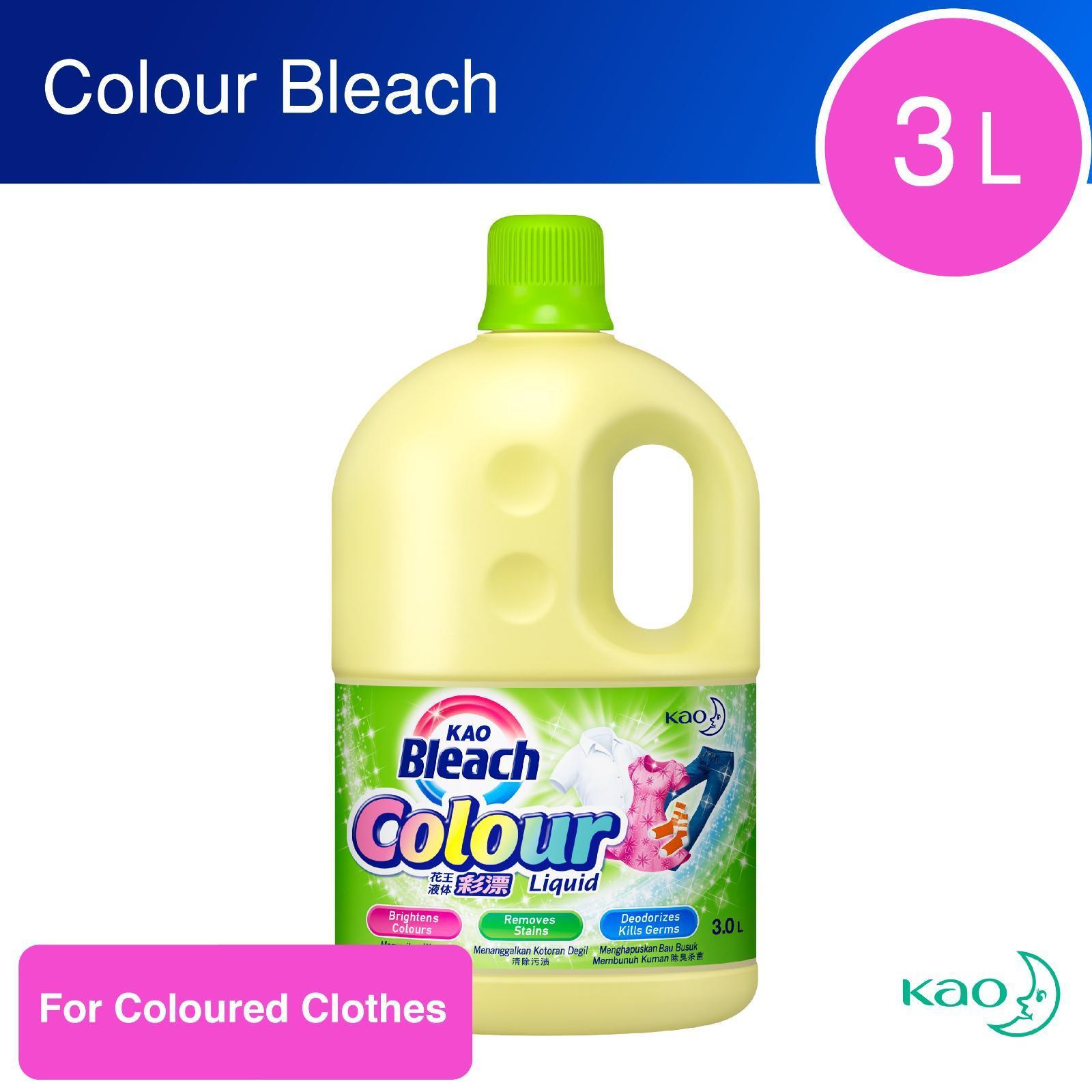 Kao Bleach Colour Liquid By Redmart.