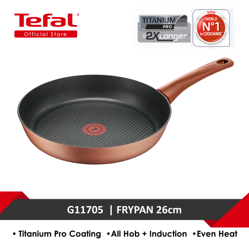Tefal Chef's Delight Copper Frypan 26cm G11705 Singapore