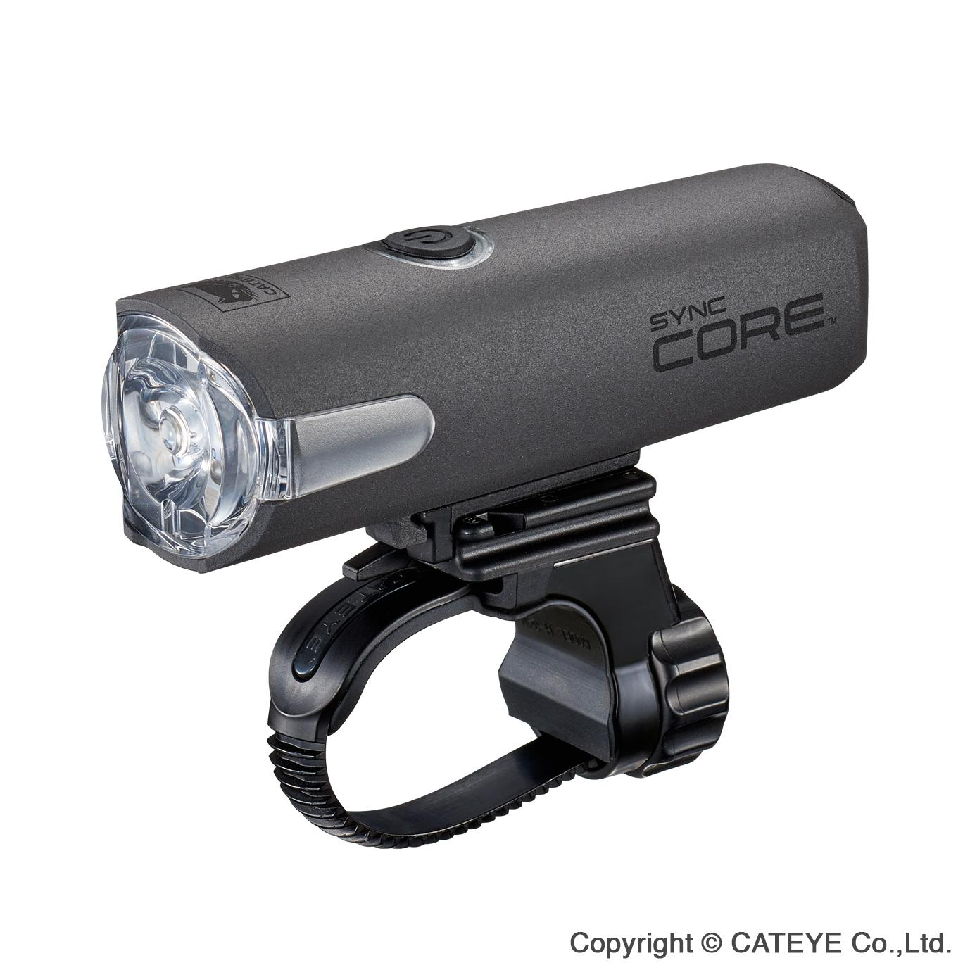 Cateye Sync Core + Sync Kinetic Front and Rear Bicycle Light Combo Set