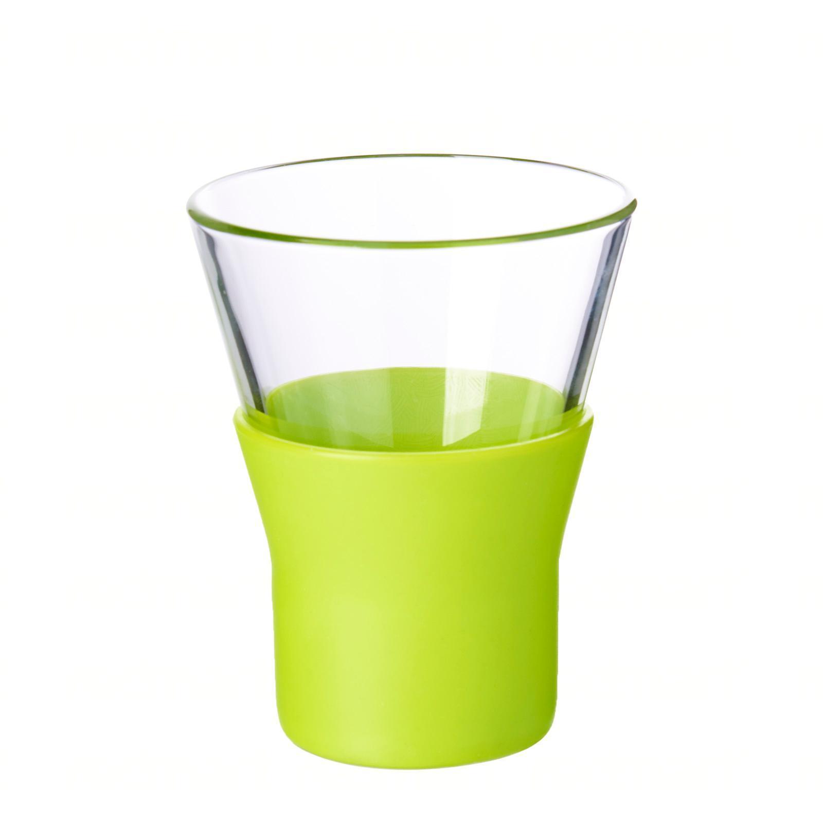 Bormioli Rocco Ypsilon Brio Green Cappuccino Glass 22Cl