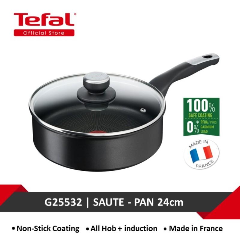 Tefal Unlimited Black IH Saute-pan 24cm w/lid G25532 Singapore