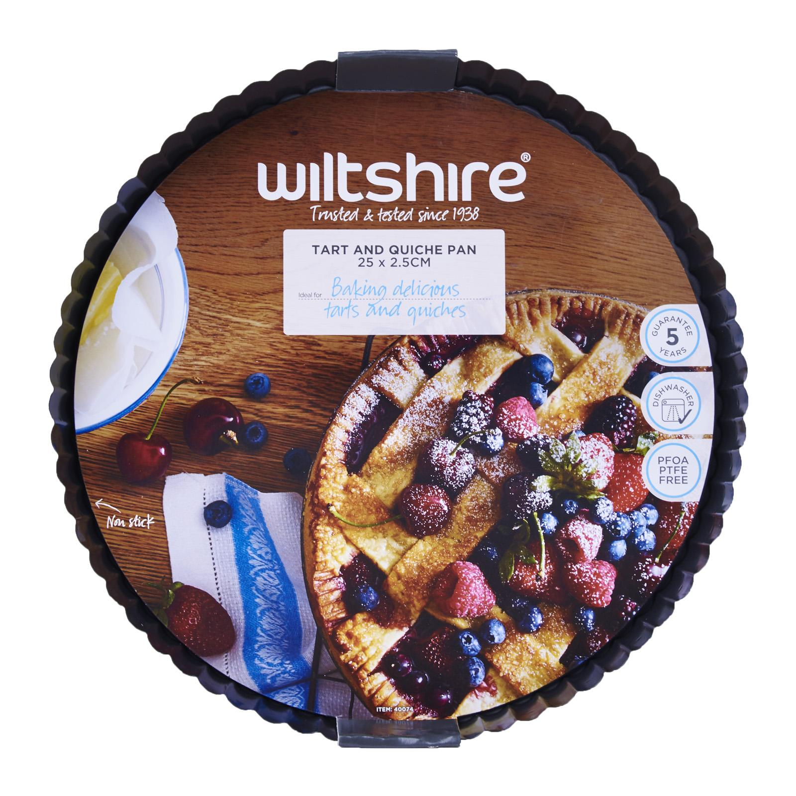 Wiltshire Easybake Tart And Quiche Pan 25cm