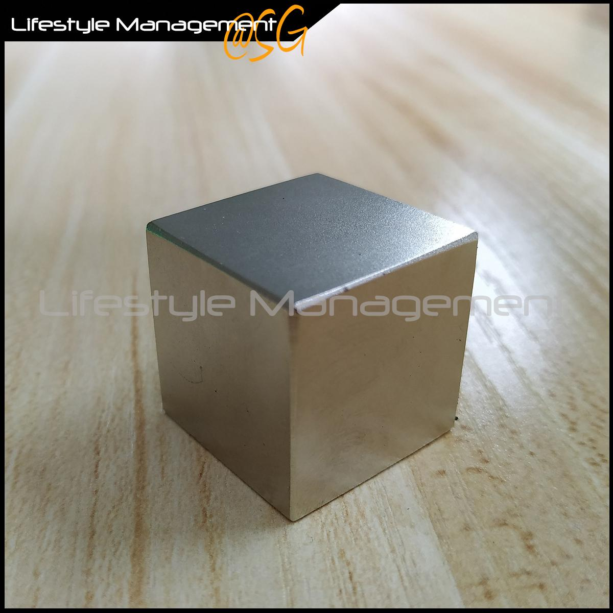 Grade N52 Rare Earth Magnet Neodymium NdFeB 24.5mm Cube