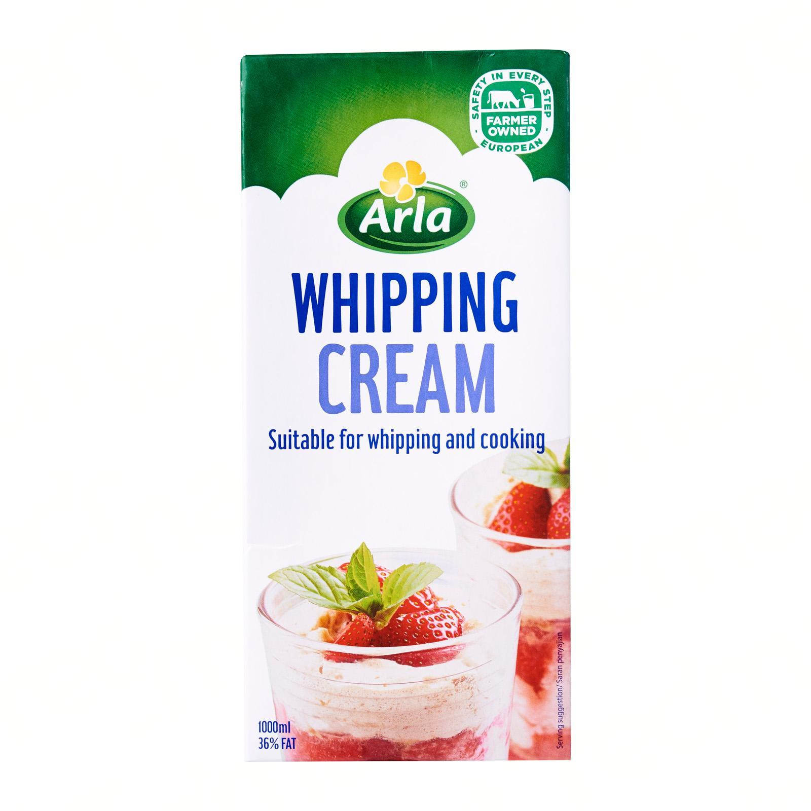 Arla Whipping Cream - Large Pack