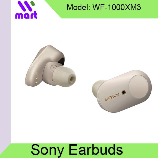 Sony WF-1000XM3 Best Noise Cancelling Earbuds / Singapore Set (Black Color Ship 25Aug Onwards) Singapore
