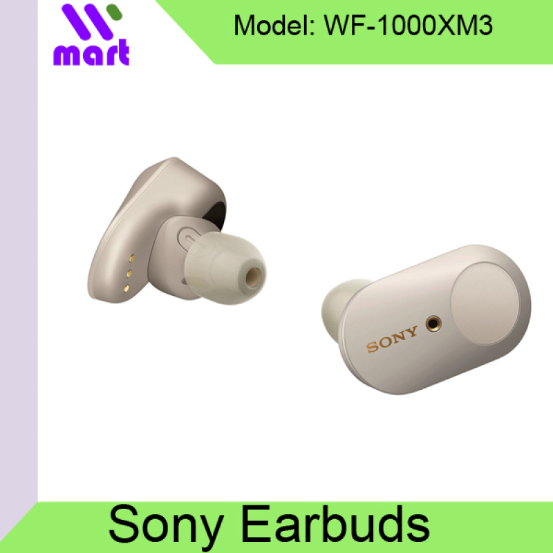 Sony WF-1000XM3 Best Noise Cancelling Earbuds / Singapore Set (Black Color Ship 25Aug Onwards) Singapore