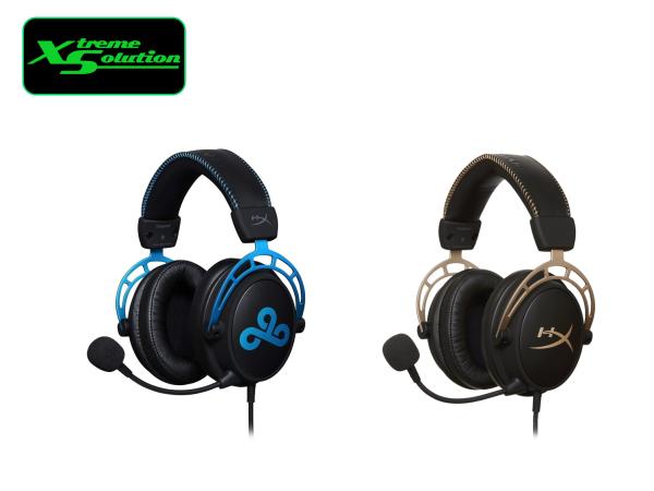 Kingston Hyper X Cloud Alpha Limited Edition Series Gaming Headset (Alpha Gold / Alpha Cloud 9)