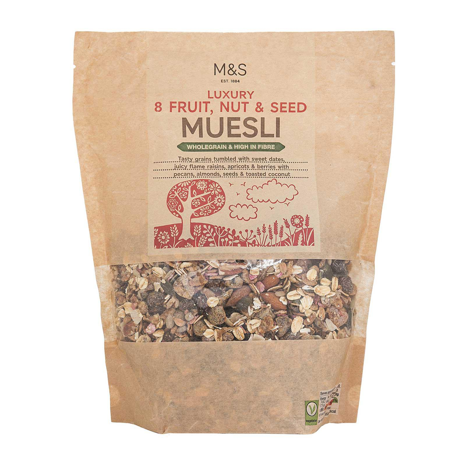 Marks & Spencer Luxury 8 Fruit Nut and Seed Muesli