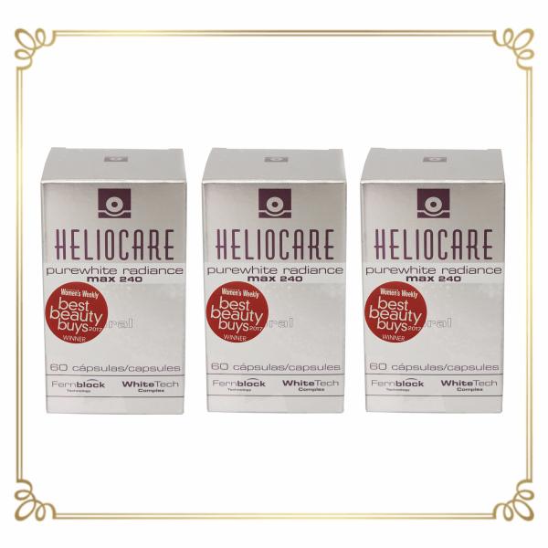 Buy Heliocare Purewhite Radiance Max240 (3boxes bundle)  | M-Aesthetic Clinic Singapore