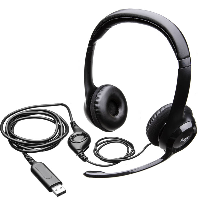 (Promotion) Logitech H390 USB Headset with Inline Audio Control (Work From Home, Home Based Learning, Audio Video Conferencing) Singapore