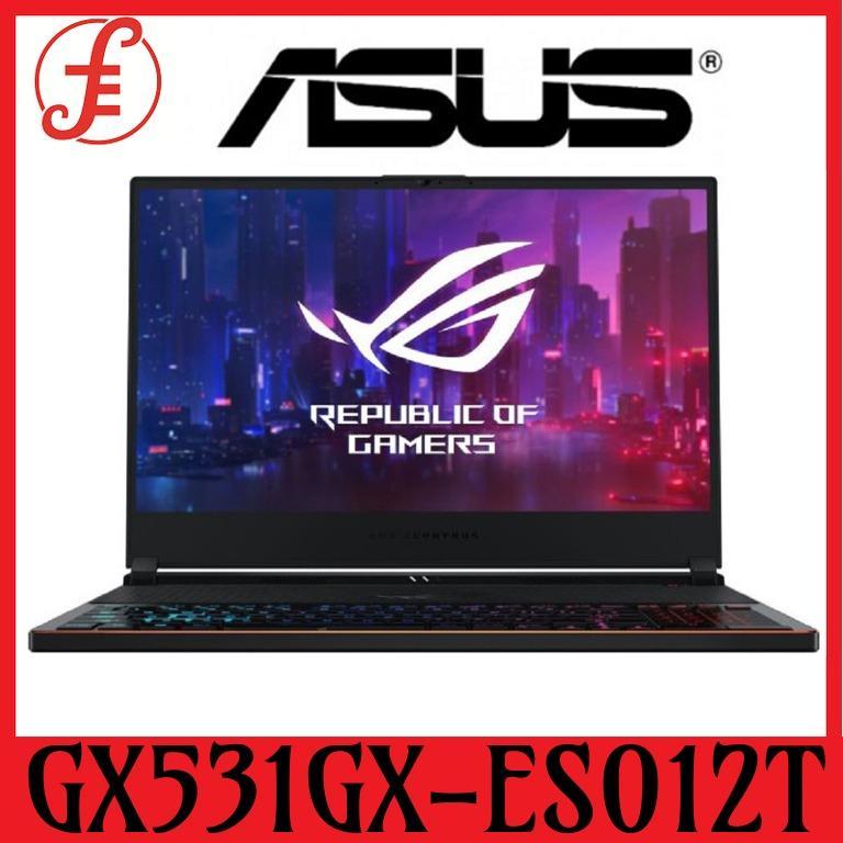 Asus GX531GX-ES012T Zephyrus GX531GX-ES012T (Intel i7, 24GB RAM, 512GB,SSD,RTX2080 (8GB) (GX531GX-ES012T)