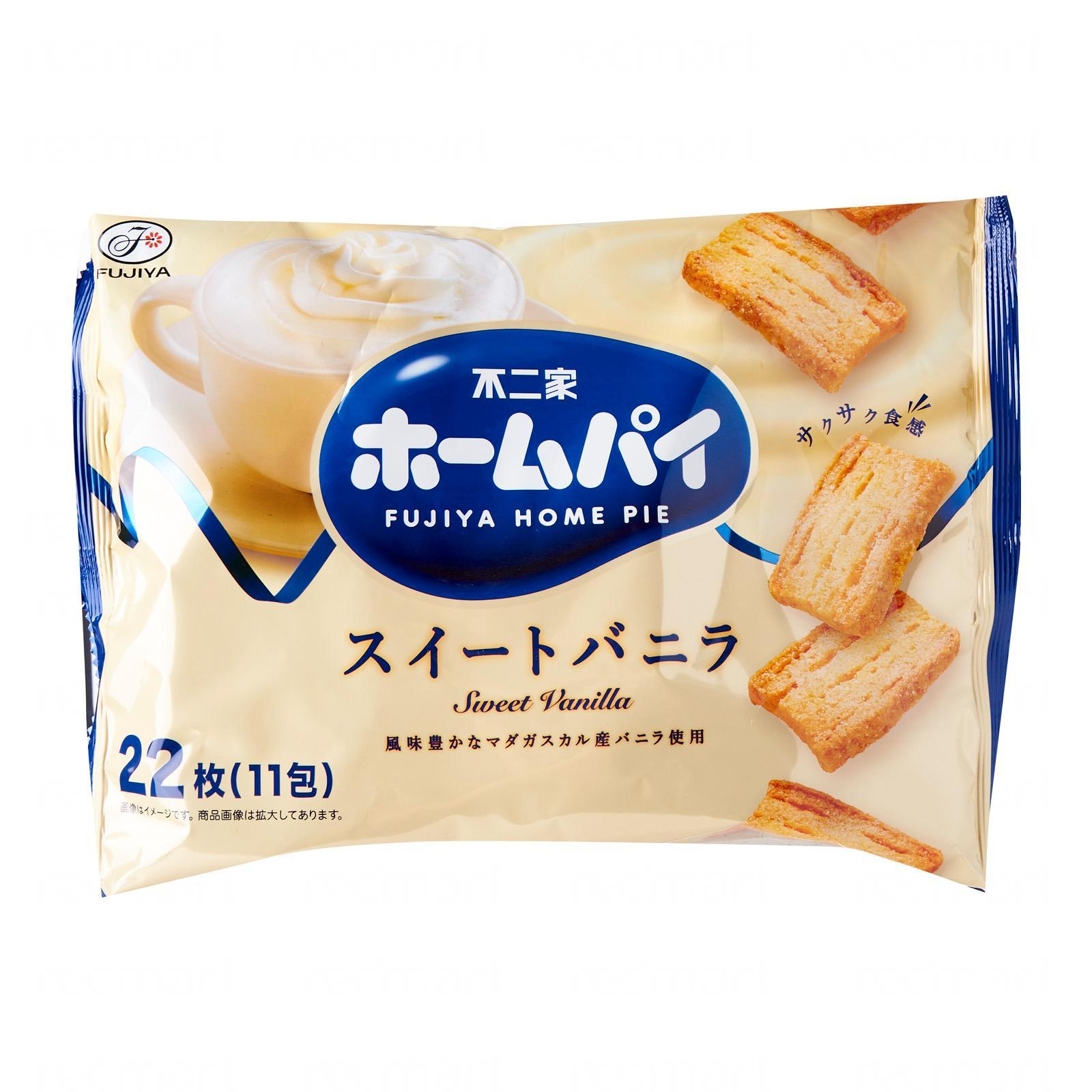 Fujiya Sweet Vanilla Flavour Home Pie - Jetro Special