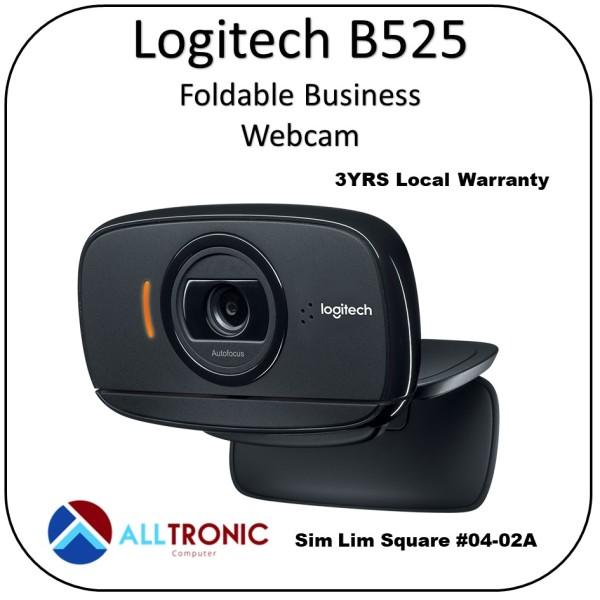 Logitech B525 Foldable Business Webcam /3yrs Singapore Local Warranty