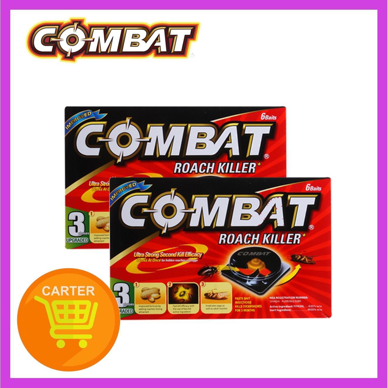 COMBAT ROACH KILLER 6s x (2 Pack)