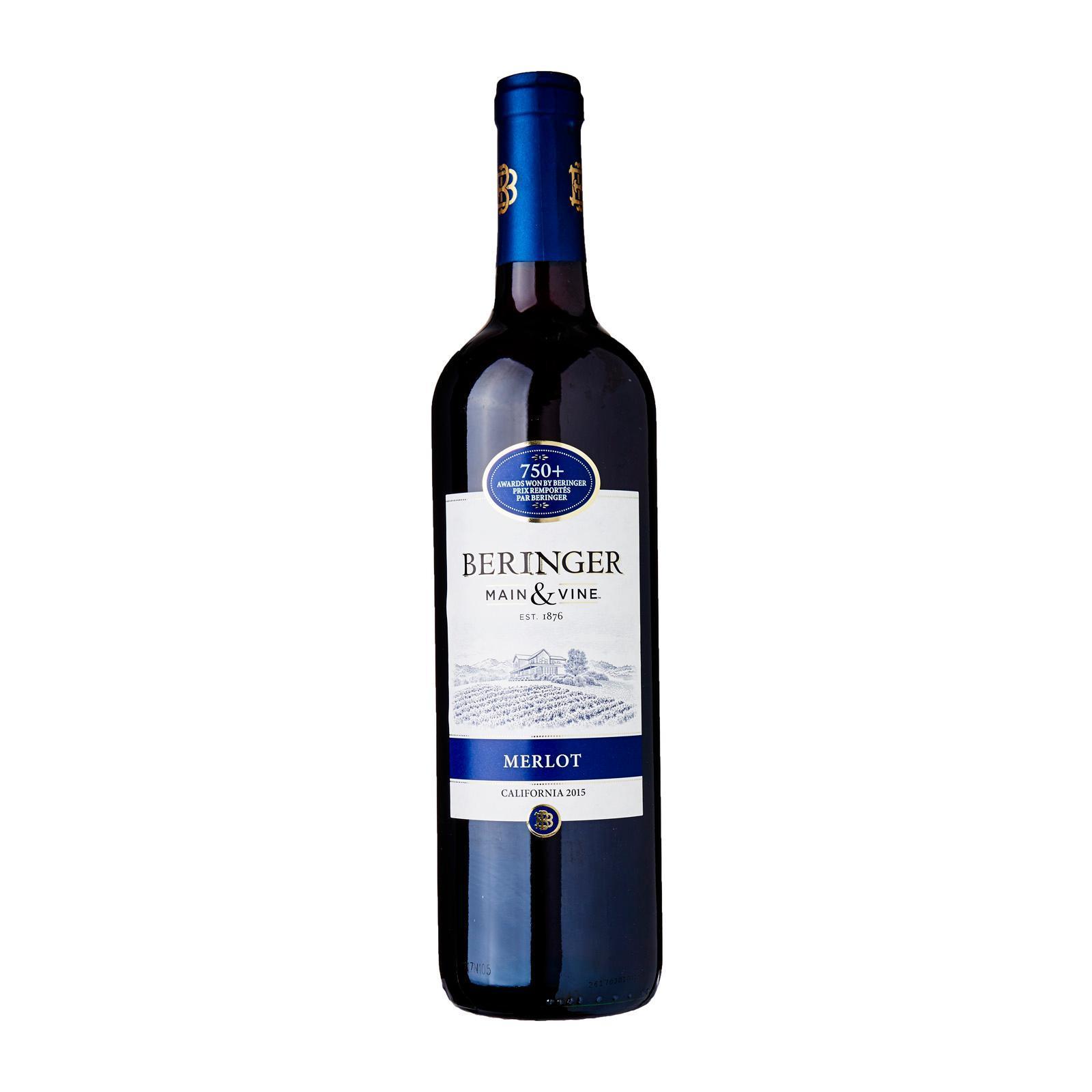Beringer Main And Vine Merlot Blackcurrant Flavour
