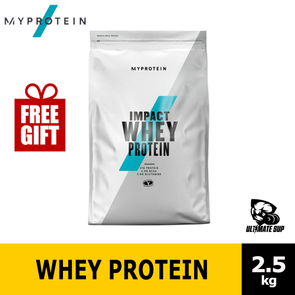 Buy Myprotein Impact Whey Protein   Whey Protein Powder 2.5kg   Build Muscle - Ultimate Sup Singapore